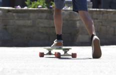 a skateboard rider