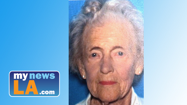 Edna Parichan was reported missing at 2 p.m. Thursday. Image via Newport Beach Police Department