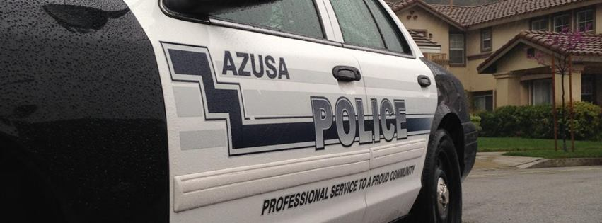 Photo courtesy of the Azusa Police Department