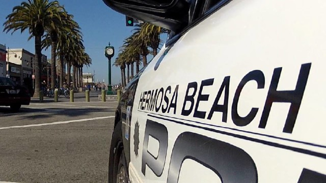 photo courtesy of the Hermosa Beach Police Department