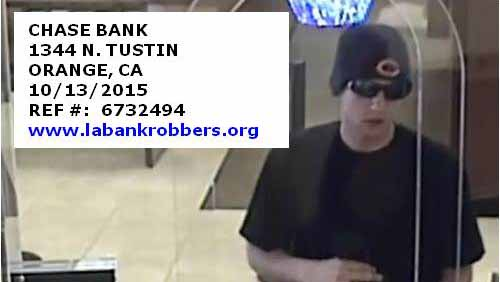Windy City Bandit bank robbery suspect. Photo via FBI