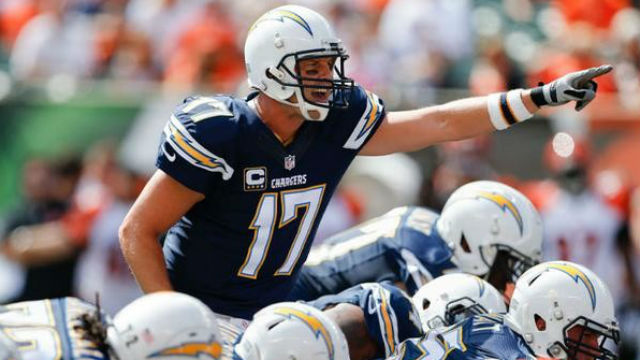 Philip Rivers Has Starred At Quarterback For Alex Spanos Chargers Photo Courtesy Of The