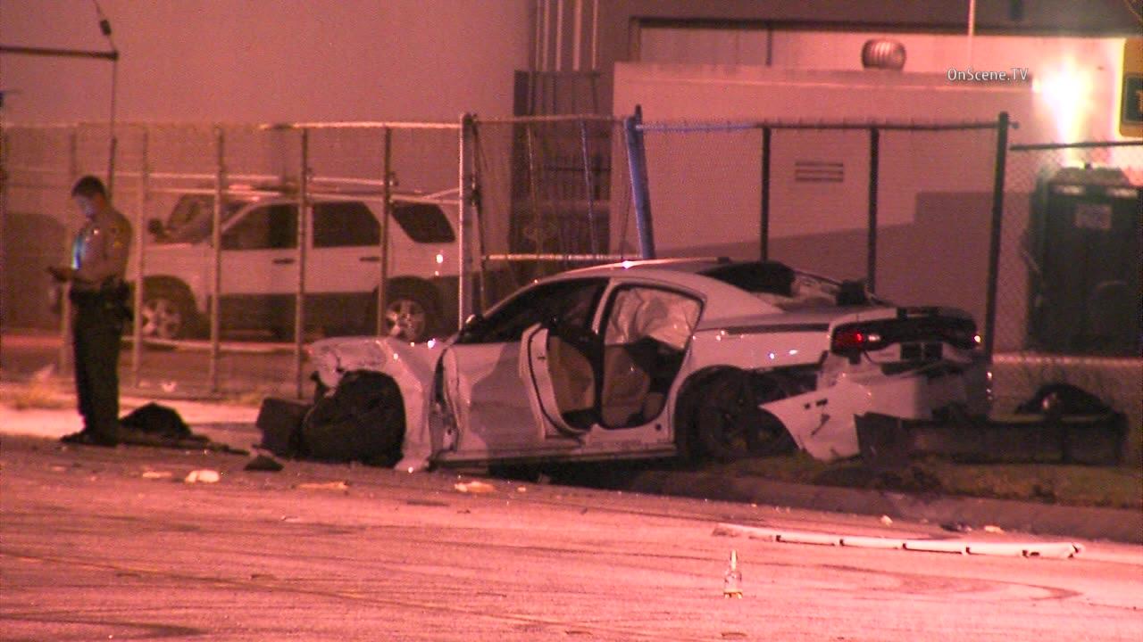 3 killed as street racing cars, pickup crash in Commerce - MyNewsLA.com