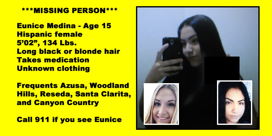 Have you seen her? Missing Azusa teen needs her medication