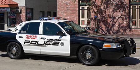 Alhambra police car. Photo via Flickr