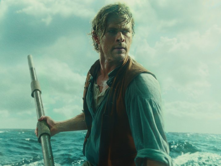 Still of Chris Hemsworth in 'In the Heart of the Sea.' Photo courtesy of Warner Bros. Pictures