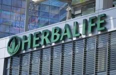 Herbalife logo in London. Photo via Reuters
