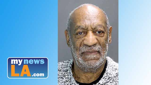 Bill Cosby booking photo of Dec. 30, 2015. Police photo via Twitter