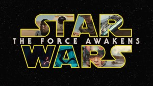 """Star Wars: The Force Awakens"" movie logo."