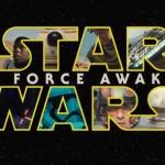 """Star Wars: The Force Awakens"" movie logo."