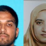 The San Bernardino killer terrorists Syed Rizwan Farook (left) and Tashfeen Malik. FBI photos