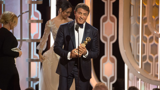 Sylvester Stallone at Golden Globes