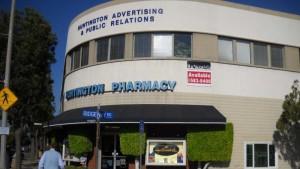 The former Huntington Pharmacy in San Marino. Photo via patch.com