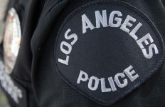 los angeles police arm patch
