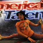 "Rebekah Ort, 10, of Carlsbad warms up before her dance-gymnastic performance for the ""America's Got Talent."" auditions."