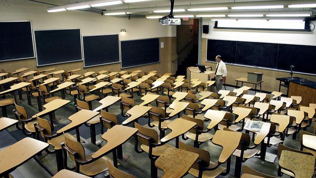 An empty school classroom. Photo by Shaylor via Flickr