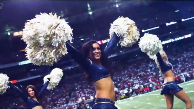 Rams cheerleaders