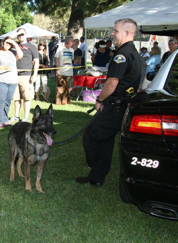 Anaheim Police dog 'Bruno' dies 2 years after being shot in