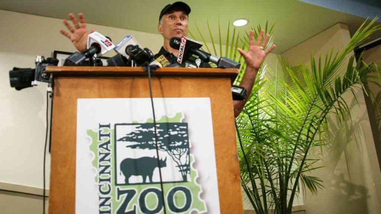 Thayne Maynard, director of the Cincinnati Zoo & Botanical Gardens. Photo via Reuters