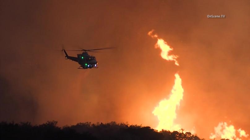 Woolsey Fire burns 96,949 acres across Los Angeles ...