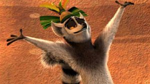 King Julien of Netflix cartoon. Image via YouTube.com