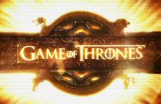 "logo of ""Game of Thrones"""