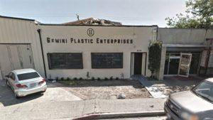 Gemini Plastic Enterprises. Photo via Google Maps