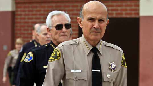 Sheriff Lee Baca. Photo via officer.com