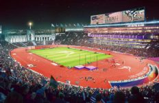 LA Olympics Track and Field rendering