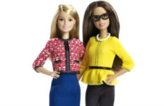 Barbie at 58 with friend