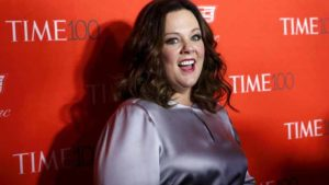 Actress Melissa McCarthy poses for photographers on the red carpet as she arrives for the TIME 100 Gala in Manhattan, New York, April 26, 2016. Photo by Shannon Stapleton via Reuters