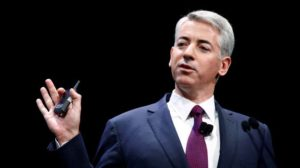William Ackman, founder and CEO of hedge fund Pershing Square Capital Management, speaks to the audience about Herbalife company in New York, Photo by Eduardo Munoz via Reuters