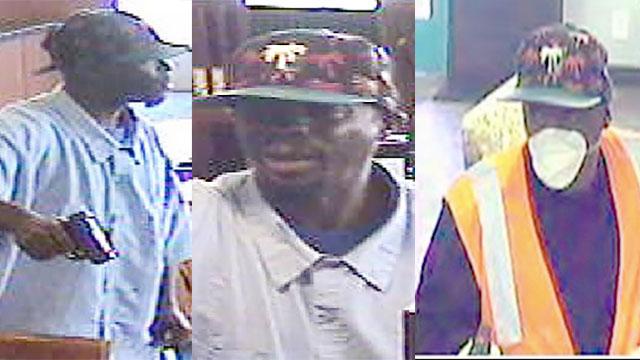 "Photos of ""Palm Tree Bandits."" Images via FBI"