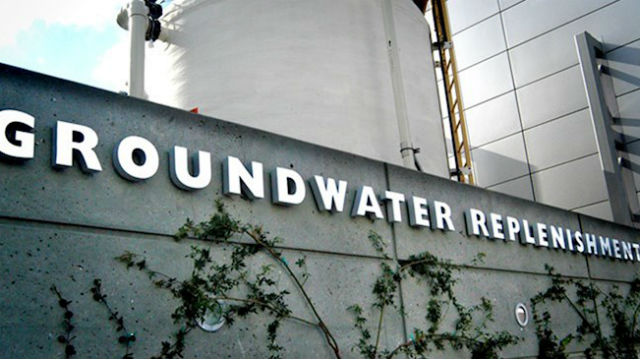 The Orange County ground water recycling plant.