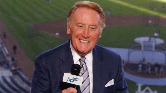 Vin Scully. Photo via vinscully.com