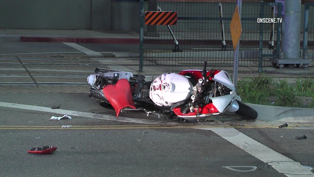 biker s death on the tracks speeding motorcyclist killed