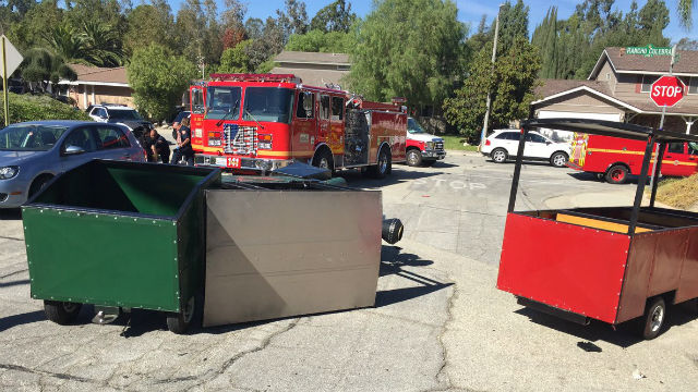 Terror train at kids birthday party: 7 tots hurt in Covina