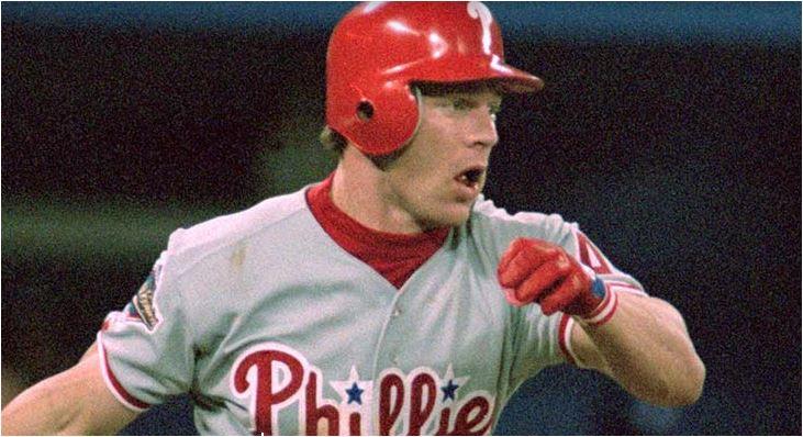 Lenny Dykstra. Photo courtesy Major League Baseball