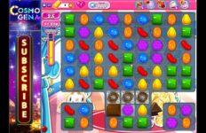 Candy Crush game. Photo via YouTube.