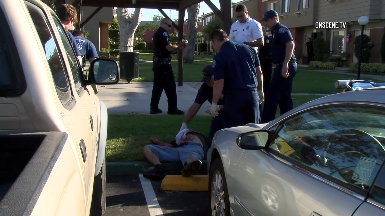 Stabbed by roommate garden grove man critically injured Garden grove breaking news now