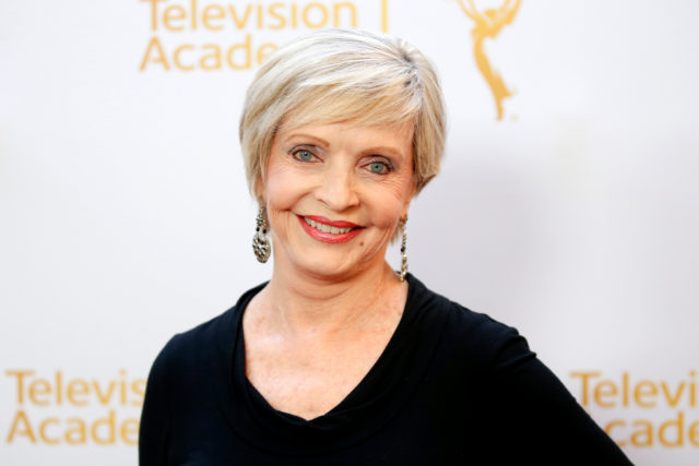 Actress Florence Henderson poses at the Television Academy's Performers Peer Group cocktail reception to celebrate the 66th Primetime Emmy Awards in Beverly Hills in 2014. REUTERS/Danny Moloshok