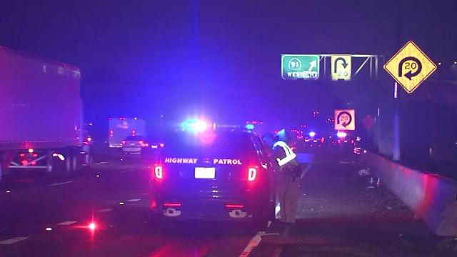 4 Dead In Fiery Crash On Harbor Freeway In South Los Angeles