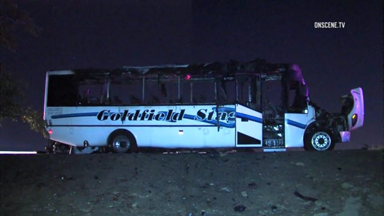 Fatal fiery bus crash spares Christian college basketball team