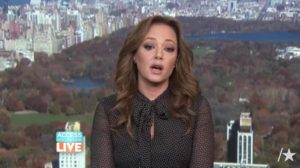 "Leah Remini on ""Access Hollywood."" Image via YouTube.com"
