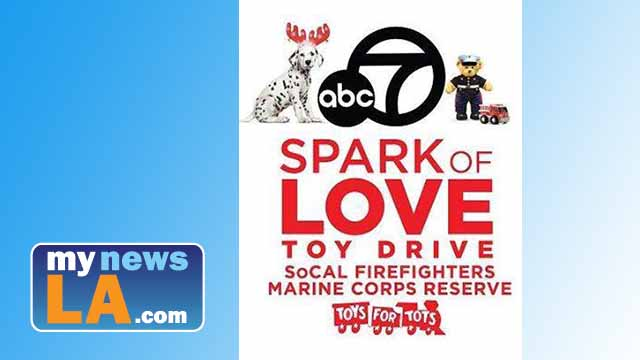 Spark of Love toy drive logo. Image via Facebook