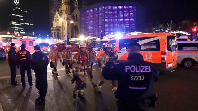 Berlin terror attacks photo via Fox News public twitter account.