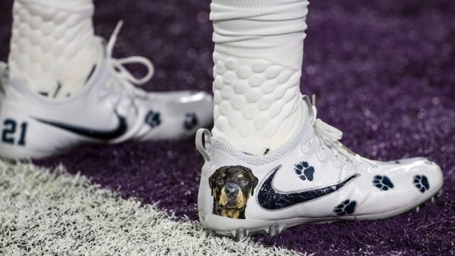 Dallas Cowboy's running back Ezekiel Elliott's custom cleats. More than 500 players are participating in the NFL's My Cause, My Cleats campaign. Image: Twitter
