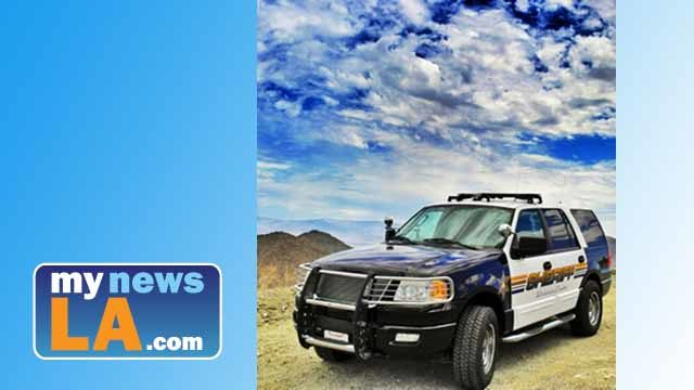 Riverside County Sheriff's Department Vehicle