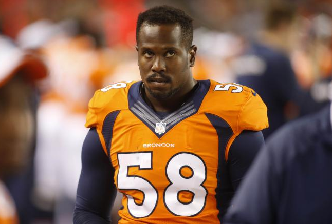 Von Miller via http://celebritynetworths.org/.