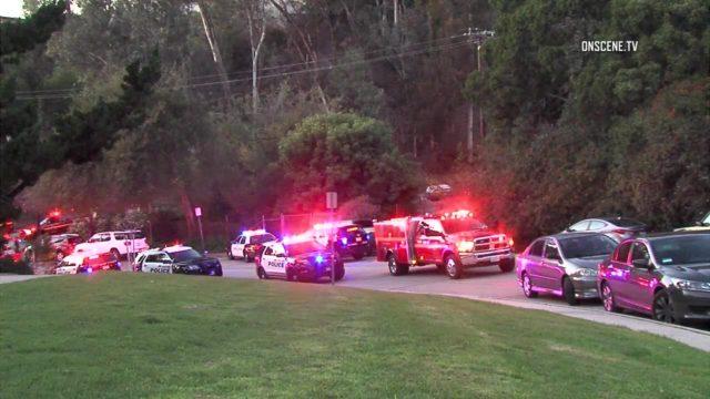 Police vehicles at William Penn Park. Courtesy OnScene.TV
